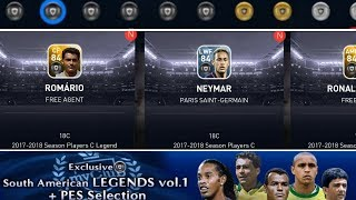 Exclusive South American Legends vol.1 pack Trick • PES 2018