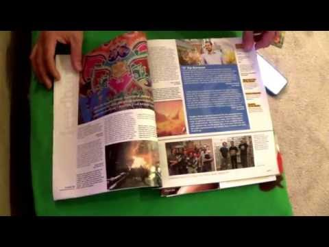 ASMR - Page turning - #52 - Magazines and a Small Book - no talking