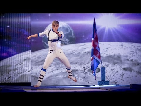 Bobby Lockwood's Trampoline Performance to 'Rocket Man' - Tumble: Episode 4 - BBC One