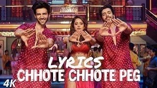 Chhote Chhote Peg (Lyrics) - Yo Yo Honey Singh - Neha Kakker - Navraj Hans - Lyrical video