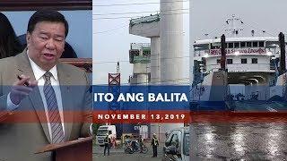 UNTV Ito Ang Balita November 13 2019