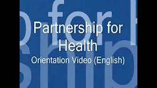 Orientation: Partnership for Health – Safer Sex