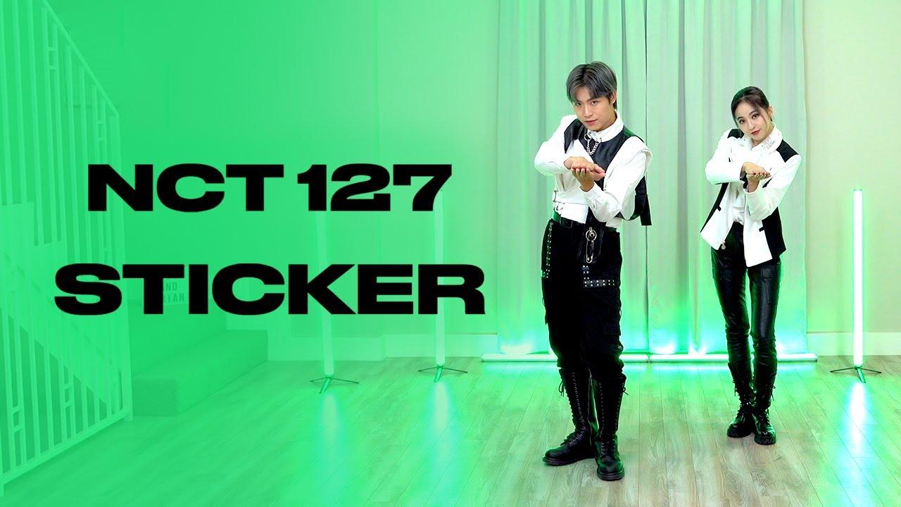 NCT 127 - 'Sticker' Dance Cover   Ellen and Brian