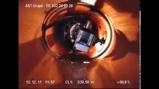 AST Grupo. FRESADO en INTERIOR de TUBERÍA con ROBOT