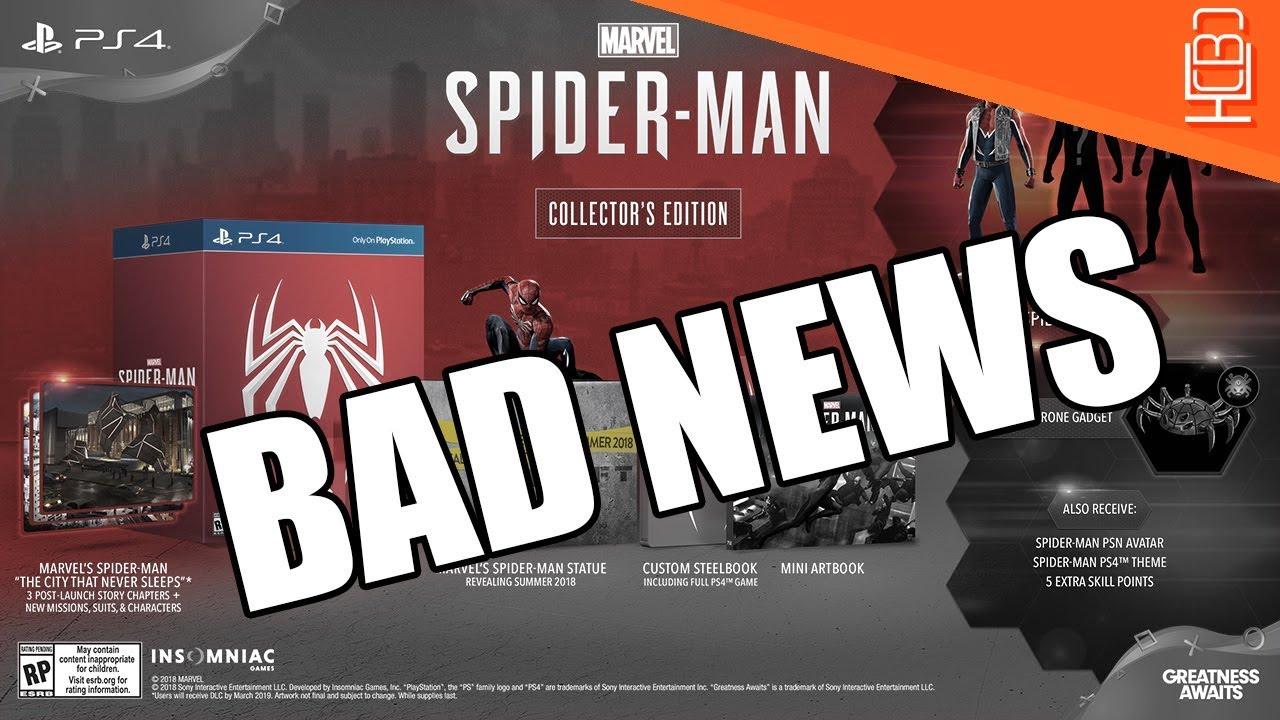 marvels spiderman collectors edition uk