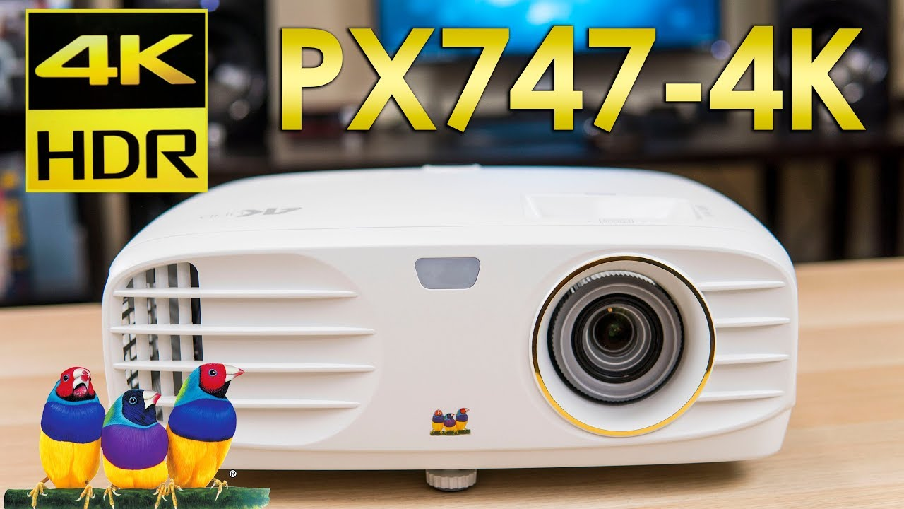 Viewsonic Px747 4k Review The Lowest Priced 4k Projector Youtube