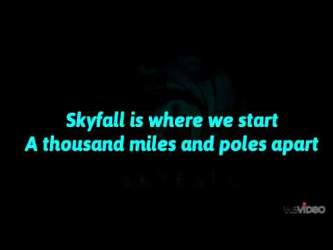 Adele  Skyfall Lyrics Full