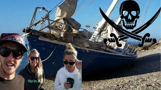 WE FOUND AN ABANDONED YACHT!