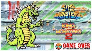 Game Over: King of the Monsters 1 & 2 (Neo Geo) - Defunct Games