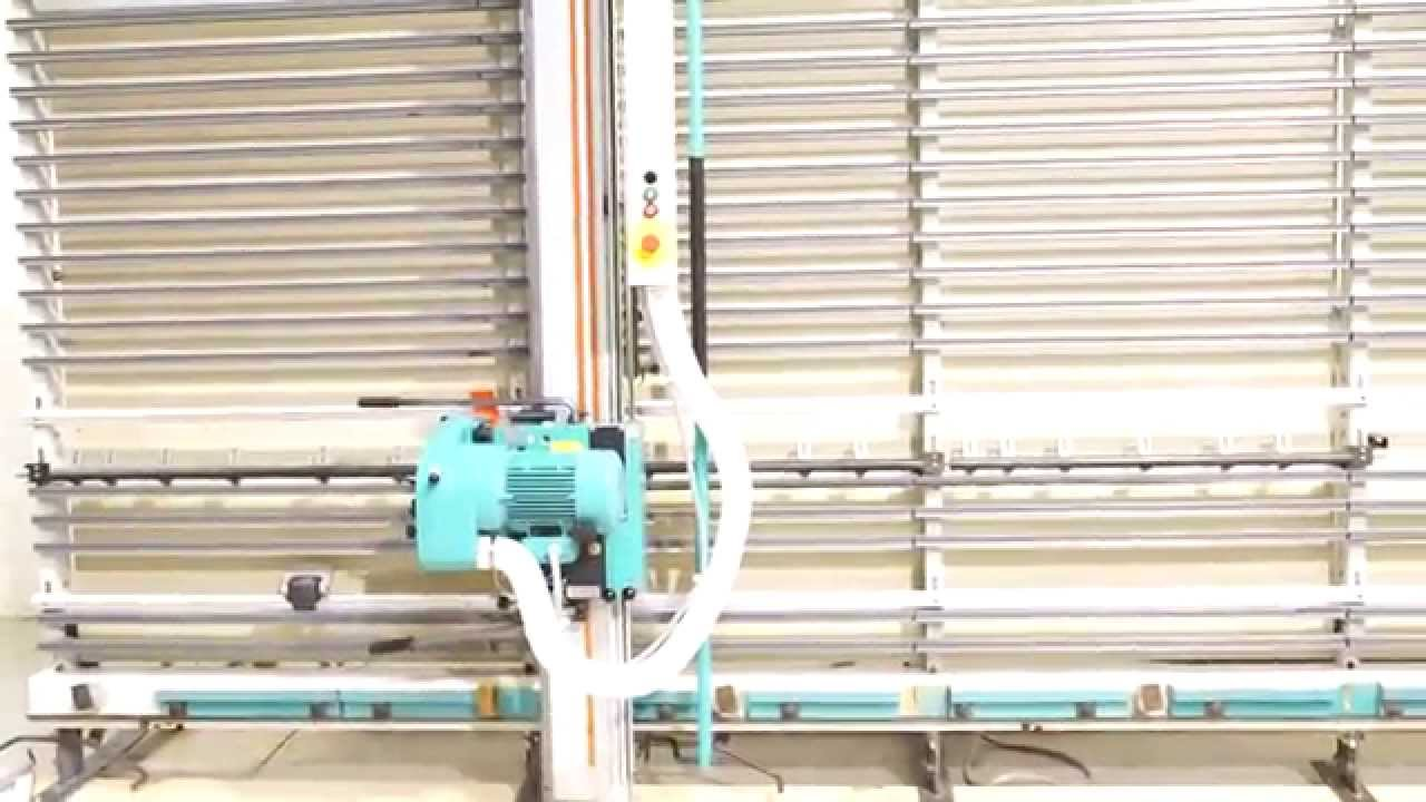 Holz Her 1265 Super Cut Vertical Panel Saw Loaded Youtube