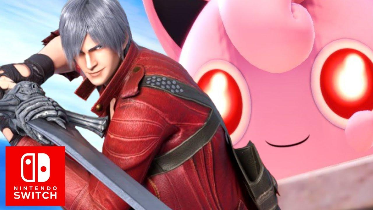 Super Smash Bros. Ultimate Dante Reveal thumbnail
