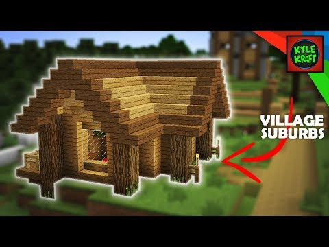 Minecraft Small Wooden Starter Survival House 1 Youtube