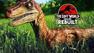 RAPTORS IN THE LONG GRASS!   The Lost World: Jurassic Park Rebuilt (Jurassic World: Evolution)