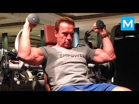 Arnold Schwarzenegger - Age is Just a Number | Muscle Madness