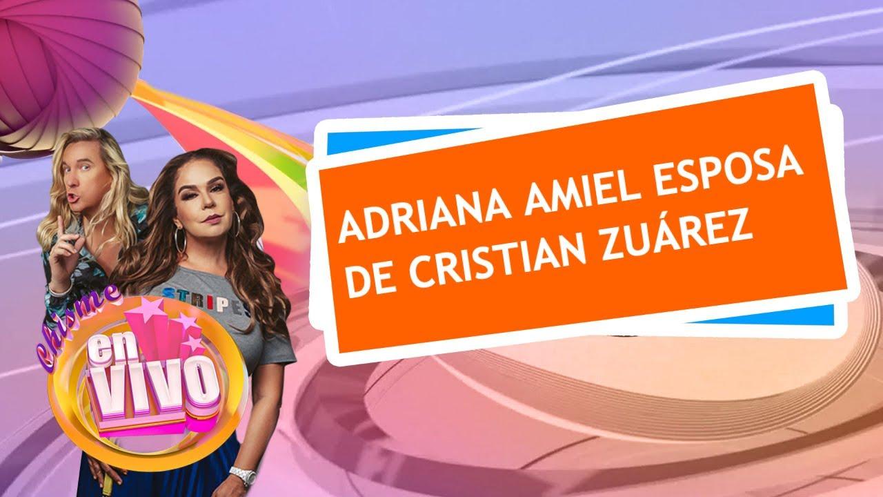 EXLUSIVA entrevista con ADRIANA AMIEL   Chisme En Vivo
