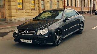 Mercedes Benz CLK 320. Купе без лишнего пафоса.