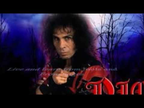 Dio and Malmsteen-Dream on (lyrics on screen)