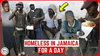 Homeless in JAMAICA for a day   This is what happened