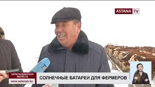 Скотоводческие фермы Карагандинской области хотят полностью перевести на солнечные батареи