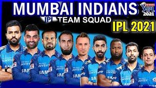 IPL 2021 Mumbai Indians Full Squad   Mumbai Indians Players list IPL 2021   MI probable Squad 2021