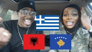 REACTION | ALBANIA vs GREECE Rap/Hip Hop/RnB MUSIC VIDEOS | BABATUNDE