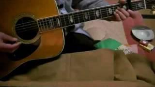 素人のギター弾き語り 翼をください 赤い鳥 1971年.
