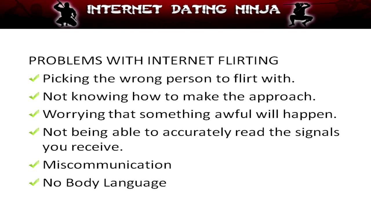 Internet Dating Ninja Vad är ett bra användar namn för en man på en dejtingsajt