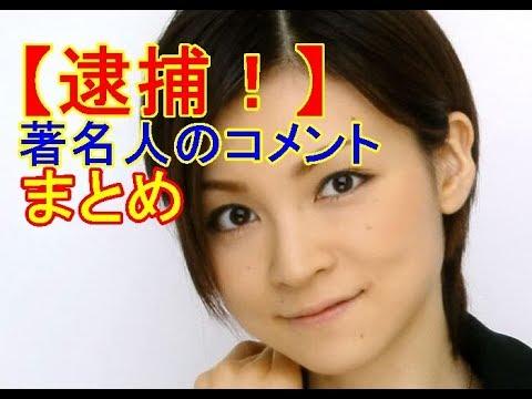 【吉澤ひとみ容疑者】 飲酒ひき逃げ事故で逮捕! 著名人の声まとめ