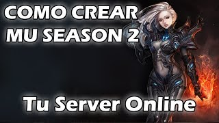 MuOnline - Crear Mu Season 2 - TSONetworks.com