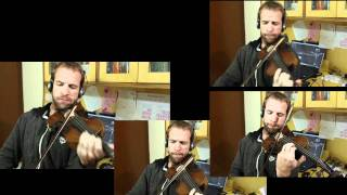 "Hobbit Trailer Song ""Misty Mountains Cold"" on Violin"