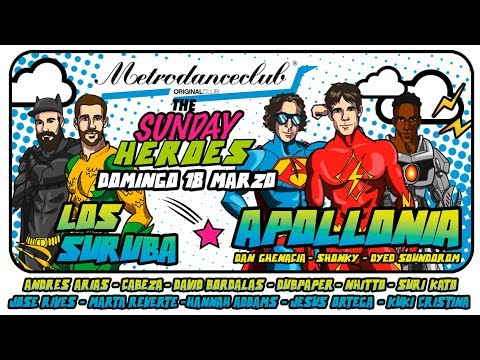 The Sundays Heroes - Facebook Live Kuki Cristina - Metro Dance Club