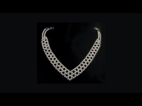 Pearl Necklace Multi Layer Fashion Jewellery DIY