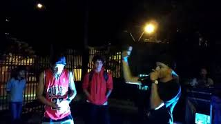 Mc Richard vs Alexis Lazarte PJMUSIC batalla Pedro juan caballero HIP-HOP salva vidas