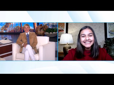 Ellen Meets Awe-Inspiring Time's Kid of the Year