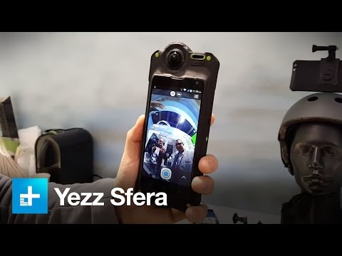Yezz Sfera 360 Camera - Hands on at CES 2016