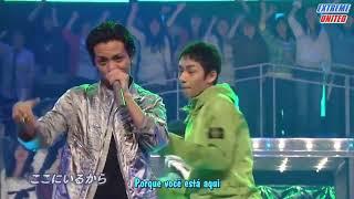 KAT-TUN (カトゥーン) - RESCUE (歌詞) [Live Legendado - ExUnited]