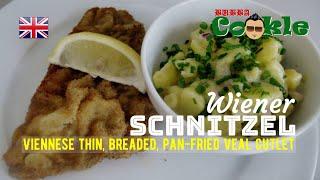 [EN] Recipe WIENER SCHNÏTZEL - Viennese thin, breaded, pan-fried veal cutlet