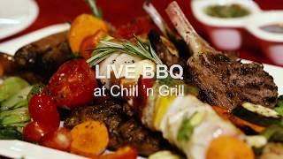 Live BBQ at Chill 'n Grill | Ascott Hotels Dhaka