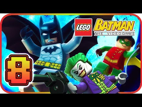 LEGO Batman: The Videogame Walkthrough Part 8 (PS3, PS2 ...