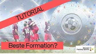 Tutorial #05/2 - Was ist die richtige Formation? Onlineliga.de