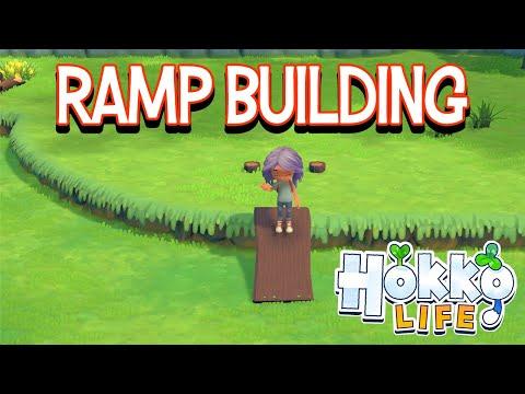 Hokko Life New Ramp Tutorial |