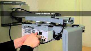 Nec Ultra Short Throw Projector Mount Installation