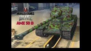 WoT Blitz  AMX 50 B    6.5K DMG    6 kills