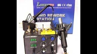 Паяльная станция lukey 852D+. Видеообзор от Интернет-магазина Electronoff.(, 2015-01-21T13:49:00.000Z)