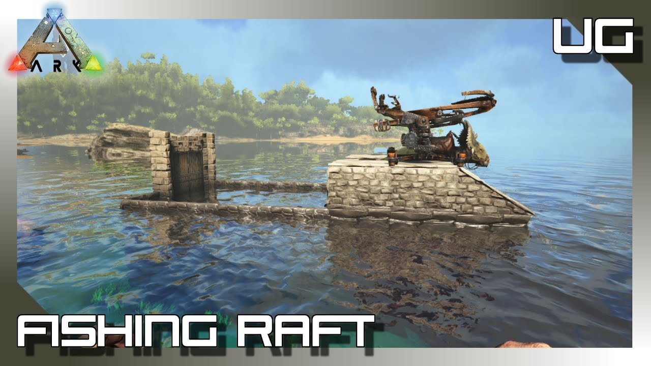 Fishing raft ark survival evolved xbox one youtube for Fishing xbox one