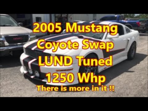 2005 Mustang Coyote Swap_ More Boost More Power!!!!