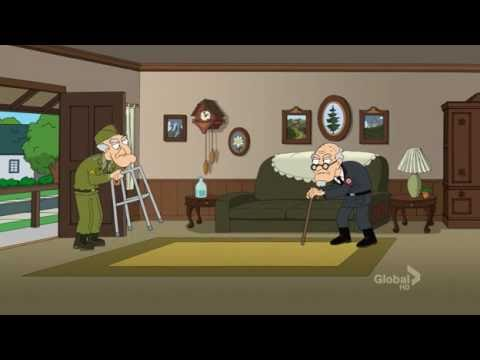 Family Guy - German Guy Herbert vs Franz