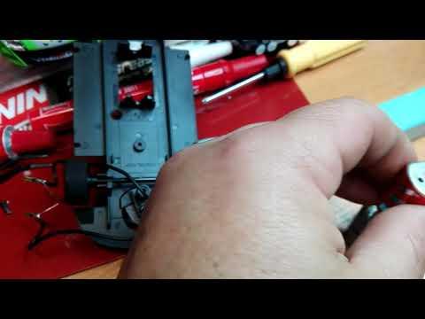Cambio de corona, piñon y llantas con ejes .renault magane ninco, slot.Scalextric