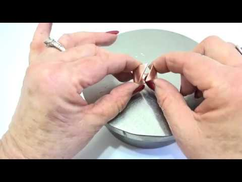 How to make a sterling silver ring using a pancake die youtube how to make a sterling silver ring using a pancake die ccuart Choice Image