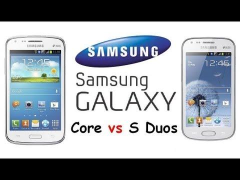 Core Duos Core vs Galaxy s Duos 